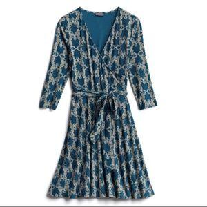 MIX By 41 Hawthorn Geo Cube Print Dress NWOT